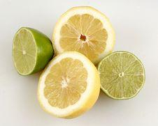 Lemon Lime Fruit Lemonade Stock Image
