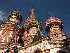 Free Vasily Blazhennogo S Temple Stock Photography - 1296782