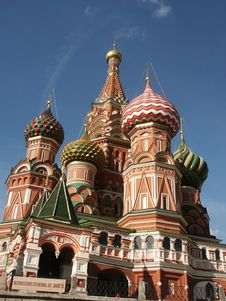 Free Vasily Blazhennogo S Temple Stock Images - 1296784