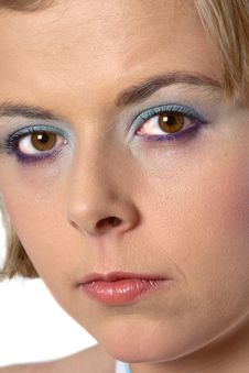 Free Blond Eye Contact Stock Photo - 1297300
