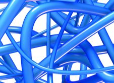 Free 3D Abstract Background Knot Design Royalty Free Stock Photos - 1297818