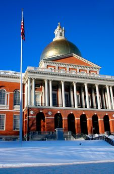 Free Massachusetts State House Royalty Free Stock Photos - 1298518