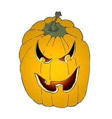 Free Halloween Pumpkin Stock Images - 1299034