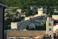 Free Panoramic View Of The Old Fortres Royalty Free Stock Image - 1299216