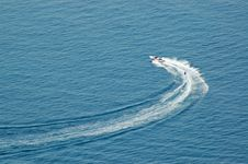 Free Water Skiing Royalty Free Stock Photography - 1299247