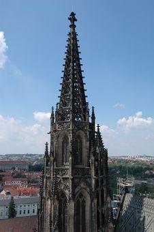 Free Prague Skyline Stock Images - 1299524