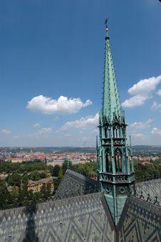 Free Prague Skyline Royalty Free Stock Images - 1299529