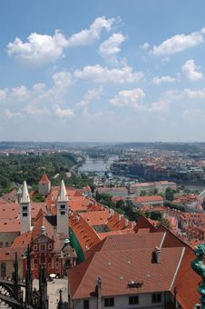 Free Prague Skyline Stock Photo - 1299530