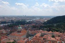 Free Prague Skyline Stock Image - 1299531