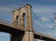 Free Brooklyn Bridge Stock Photography - 1299572