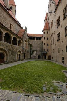 Free Castle Courtyard Stock Photo - 1299590