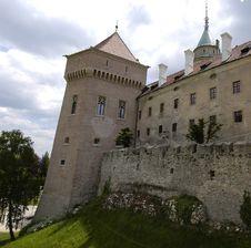 Free Castle Bojnice Royalty Free Stock Photo - 1299595