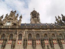 Free Middelburg Market Square Royalty Free Stock Image - 1299596