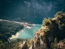 Free High-angle Photography Of Trees Near Body Of Water Stock Images - 129028894