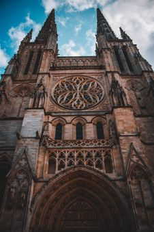Free Cathedral Of Saint Andrew Of Bordeaux Stock Photos - 129029513