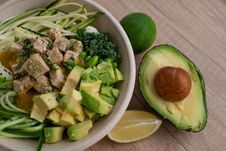Free Bowl Of Salad Stock Photo - 129030210