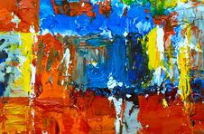 Free Photo Of Abstract Painting Royalty Free Stock Images - 129030759