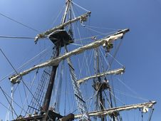 Free Sailing Ship, Tall Ship, Mast, Ship Stock Photos - 129193223