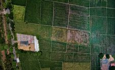 Free Aerial View Of Fields Stock Photo - 129227260
