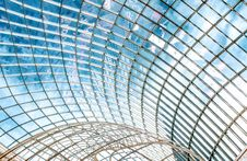 Free Glass Ceiling Stock Photography - 129228242
