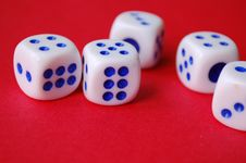 Free Dices Stock Photography - 12944742