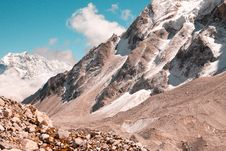Free Photograph Of A Rocky Mountain Stock Images - 129415474