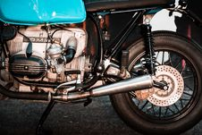 Free Close-Up Of Motorcycle Engine Royalty Free Stock Image - 129501196