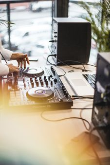 Free Photo Of Person Holding Dj Controller Royalty Free Stock Image - 129686536