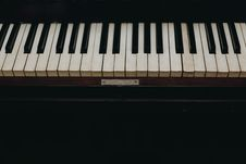 Free Photo Of Piano Keys Stock Images - 129686784