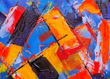Free Photo Of An Abstract Painting Royalty Free Stock Photos - 129686788