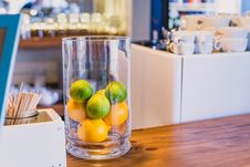 Free Photo Of Citrus Fruits Inside A Clear Glass Royalty Free Stock Images - 129686809
