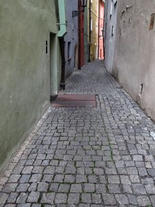 Free Alley, Road, Infrastructure, Cobblestone Stock Photos - 129752283