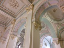 Free Ceiling, Column, Structure, Arch Royalty Free Stock Image - 129752326