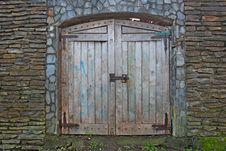 Free Wall, Gate, Door, Stone Wall Royalty Free Stock Photos - 129752348