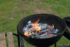 Free Grilling, Barbecue, Outdoor Grill, Barbecue Grill Stock Photos - 129752393