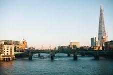 Free Green Bridge In City Stock Photos - 129874983
