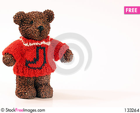 Free Bear In Sweater Stock Images - 133264