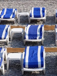 Free Deck Chair Stock Photo - 130020