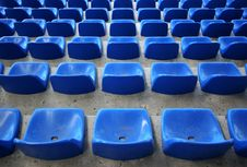 Free Stadium Seats Royalty Free Stock Photo - 130155