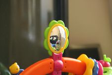 Free Childs Toy With Mirror Stock Image - 131721