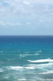 Free Windsurfers At Diamond Head Royalty Free Stock Photography - 132787
