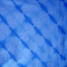 Free Blue Tie-dyed Fabric Stock Photo - 132870