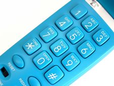 Free Blue Phone Royalty Free Stock Images - 133579