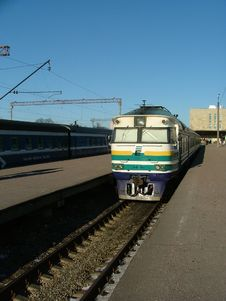 Free Train In The Station Stock Photo - 134600