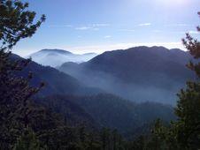 Free Angeles Mountain Haze Stock Image - 134961