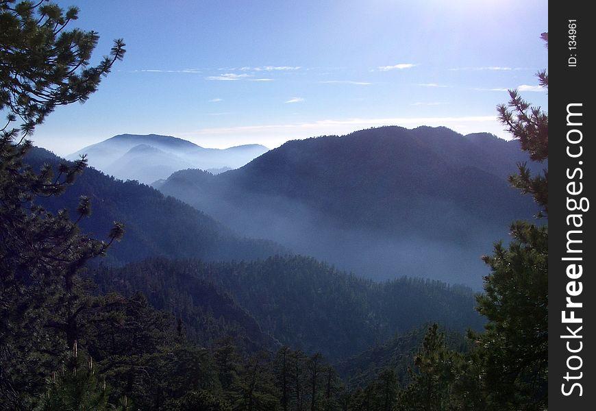 Angeles Mountain Haze