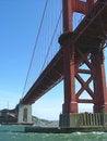 Free Underneath The Golden Gate Bridge Stock Images - 1308864