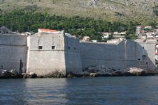 Free Detail Of The Old Fortres Stock Image - 1300211