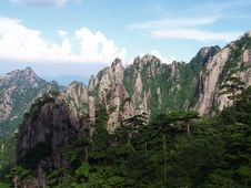 Free The Scenery Of Huangshan In China Stock Photography - 1300212