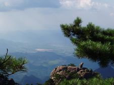 Free The Scenery Of Huangshan In China Stock Photography - 1300232